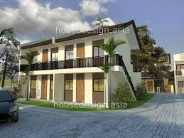 Modern Two Story House Plans Two Story Apartment With 4 Units Rustic Modern Pinterest