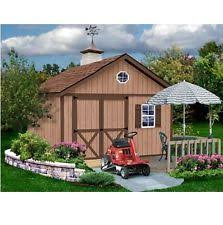 Best Barns Millcreek Wood Shed Kit Ebay