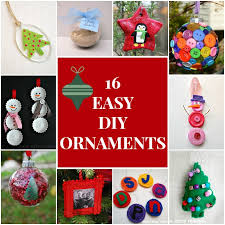 diy ornaments roundup