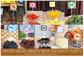 brown birthday party brown brown birthday party brown