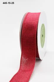 1 5 inch faux burlap wired ribbon may arts wholesale ribbon