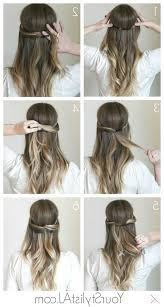 Hochsteckfrisurenen Selber Machen Glatte Haare by Die Besten 25 Festliche Frisuren Lange Haare Ideen Auf