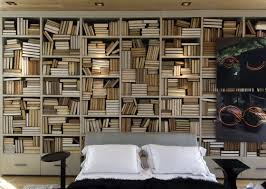 creative and unique home library room design and decoration