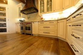 distressed hickory floors kitchen traditional san
