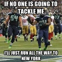 Seahawks Super Bowl Meme - nfl super bowl xlviii meme battle manning vs beastmode fan vote