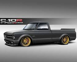 chevy concept truck 1972 chevrolet c10 r project truck to be spectre performance sema
