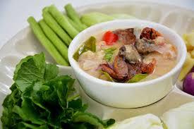 cuisine e ป หลนผ กสด เมน แนะนำ ร าน 45 cafe e sarn cuisine wongnai