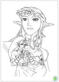 zelda coloring page legend of zelda link coloring pages lineart zelda u0026 link
