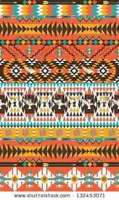 Colorful Aztec Rug Seamless Colorful Aztec Pattern Stock Vector 132453071 Shutterstock