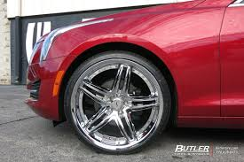 Cadillac Gto Cadillac Ats With 20in Status Haze Wheels Exclusively From Butler