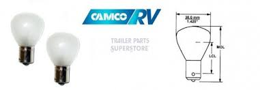 camco 12v replacement 1139if light bulbs 2 pack 54787