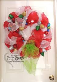 christmas mesh wreaths patty s deco mesh christmas wreath patty s sting spot