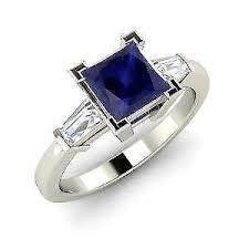 sapphire engagement rings sapphire engagement ring ebay