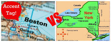 New York And Boston Map by Accent Tag Boston Vs Ny Youtube