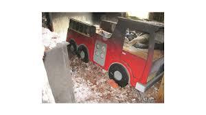 Fire Engine Bed Ore Firefighters Restore Boy U0027s Fire Truck Bed Firehouse