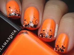 orange halloween nails u2013 slybury com