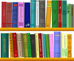free vector graphic shelf books library reading free image
