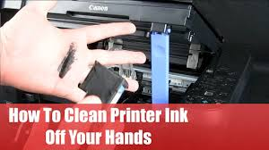 How To Get Pen Off Walls by How To Clean Printer Ink Off Your Hands Youtube