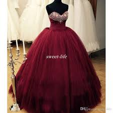 burgundy quince dresses real images 2017 new burgundy quinceanera dresses