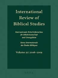 lang ed international review of biblical studies septuagint