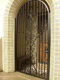 Steel Exterior Security Doors Terrific Decorative Metal Front Doors Photos Ideas House Design