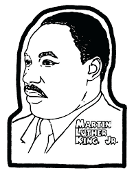 Martin Luther King Jr Coloring Pages To Print Printable Pin Up On Pin Up Coloring Pages