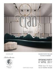 boutique inauguration invitation clan milano opening party invitation press area clan milano