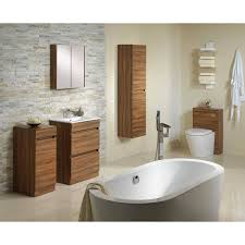 walnut bathroom furniture cabinets ideas