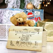 personalised twas the night before christmas eve box by jonny u0027s