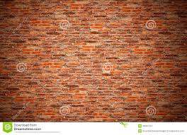 old brown orange grunge red brick wall for texture background