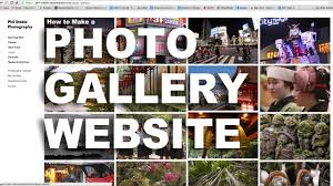 Making A Photo Album How To Make A Photo Gallery Website The Easy Way Youtube