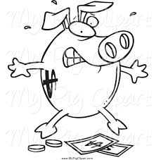 royalty free stock pig designs of printable coloring pages page 2