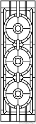 Stained Glass Door Panels by Celtic Modern Stained Glass Panel