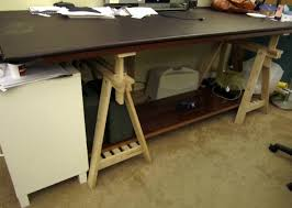 Ikea Drafting Table Ikea Studio Table Gallery Of Ikea Table Hack With A Concrete Top