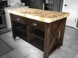 butcher block kitchen island table beautiful martha stewart