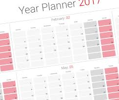 2019 yearly planner template modern design printable pdf template