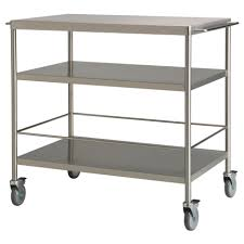 durable grey movable kitchen islands with storage and wheels from