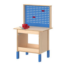 Toddler Tool Benches - build dramatic play and fine motor skills with a wooden workbench