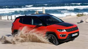 red jeep compass jeep compass trailhawk 2017 review by car magazine