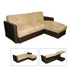 bed sofa with storage sectional sofa bed storage chaise cocoa