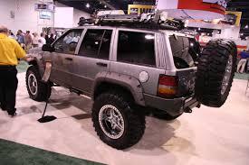 sema jeep grand cherokee bushwacker jeep grand cherokee 1 madwhips