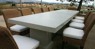 cement table and chairs whats new at cast stone hospitality outdoor furniture concrete