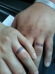 tattoos of wedding rings wedding rings wedding ring tattoos date the creation of wedding