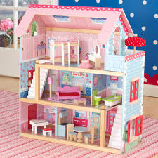 kidkraft chelsea dollhouse with furniture 65054 u2013 nurzery com