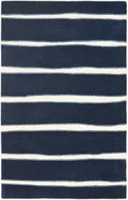 Navy White Area Rug Rug Msr3617c Chalk Stripe Martha Stewart Area Rugs By Wool