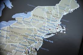 Push Pin Map Push Pin Travel Map Review Travel To Blank Travel Guide