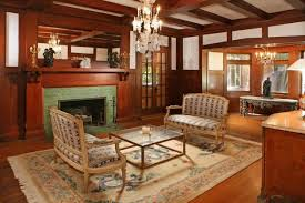living room in mansion the real