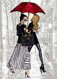 hayden williams fashion illustrations me acorde de paris