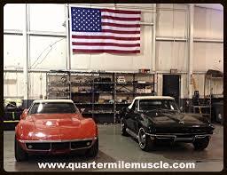 corvette restoration shops corvette restoration shop quarter mile inc contact