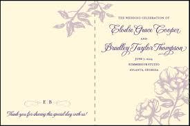 programs for weddings wedding programs cover design endo re enhance dental co